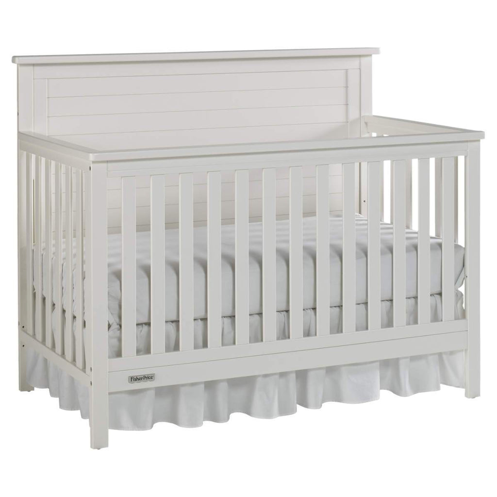 Fisher-Price Lucas 4-in-1 Convertible Crib - Snow White