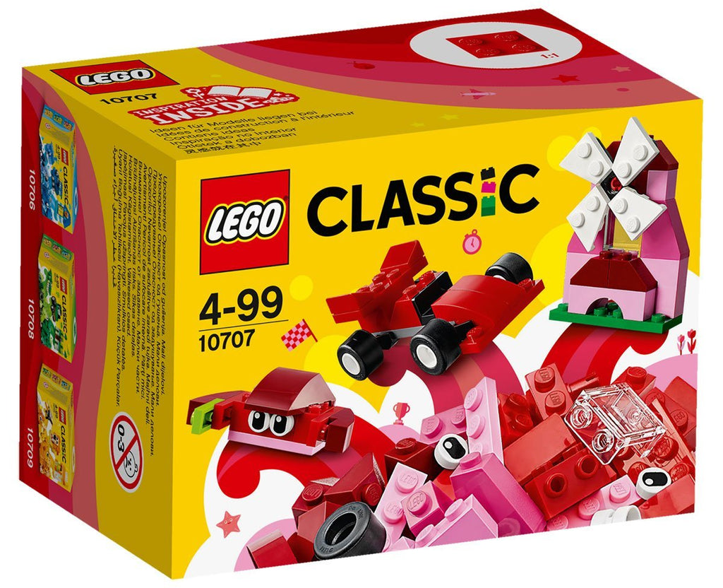 Lego Classic Creativity Box Red