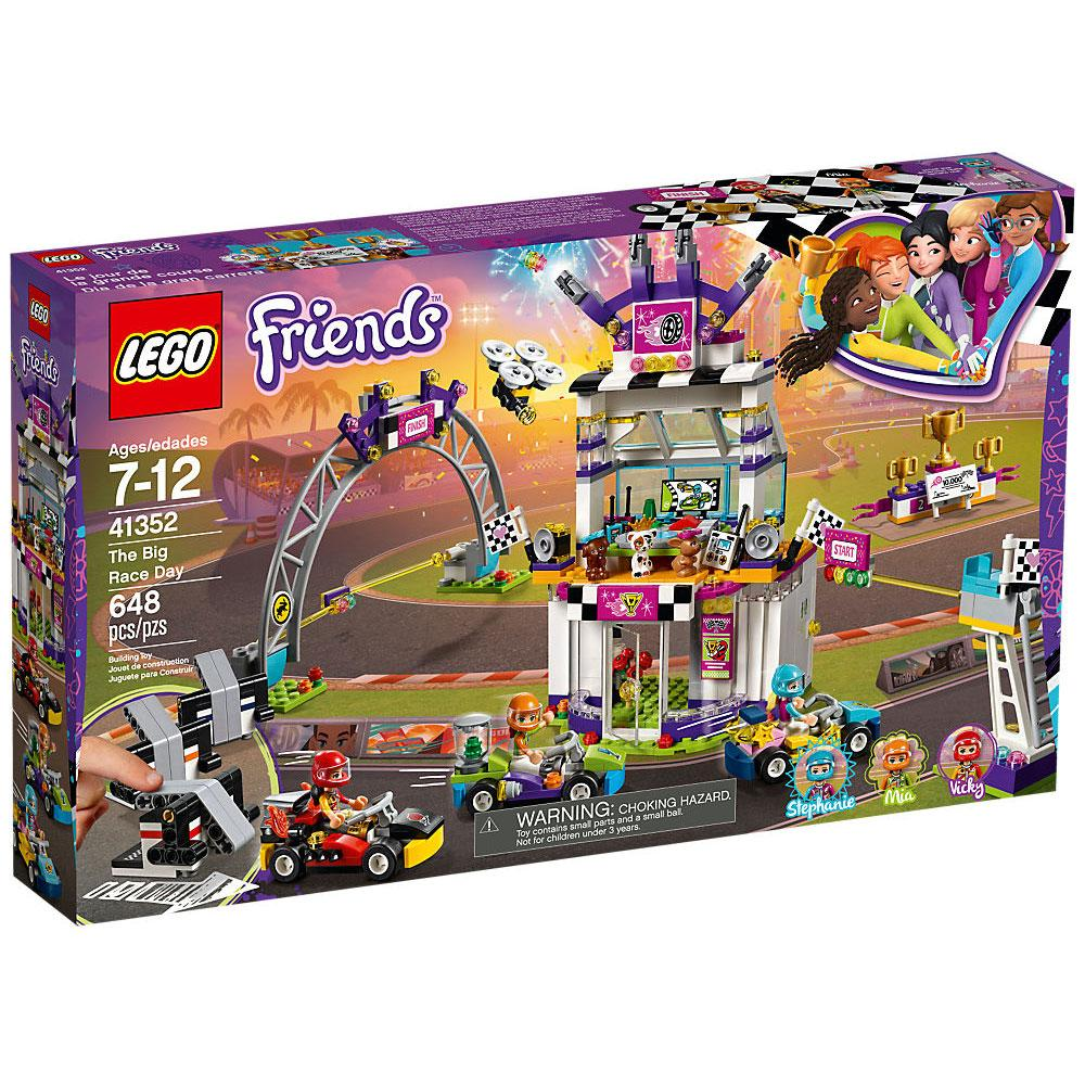 Lego Friends The Big Race Day