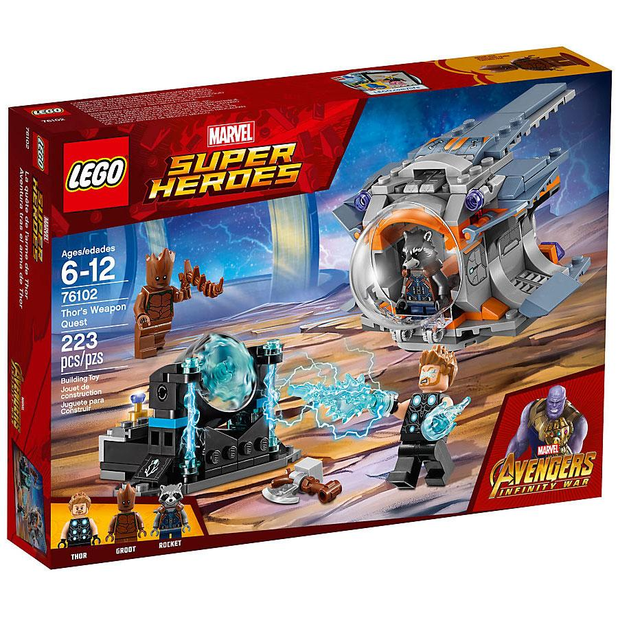 Lego Marvel Super Heroes Thor's Weapon Quest