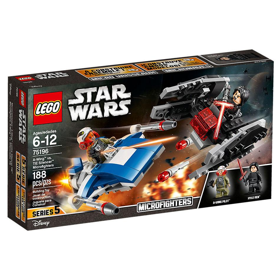 Lego Star Wars A-Wing vs TIE Silencer