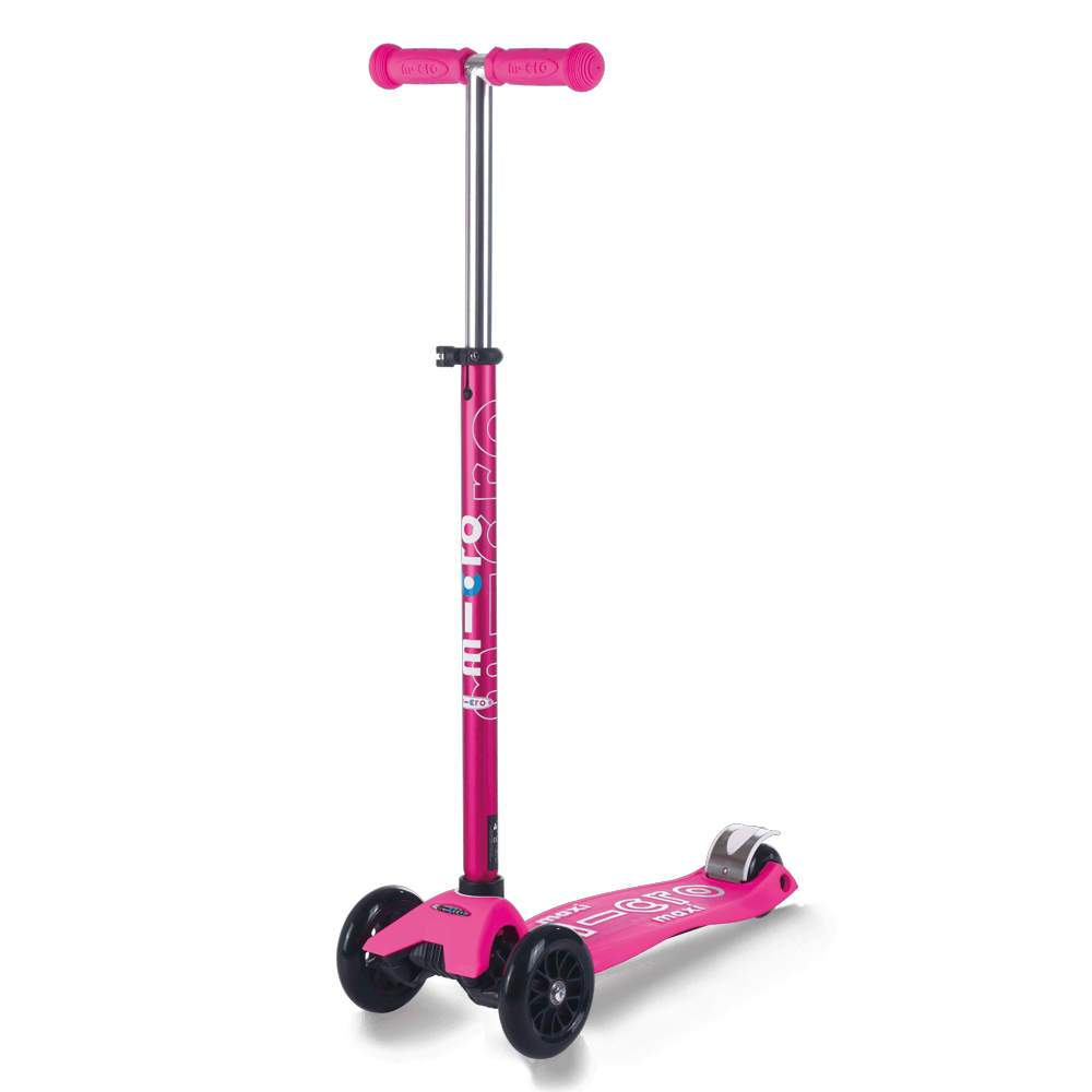 Micro Kickboard Maxi Scooter Deluxe - Shocking Pink