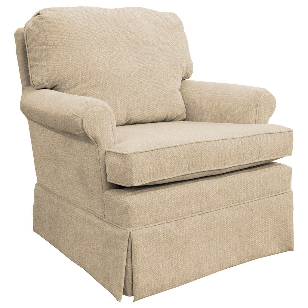 Peter Custom Fabric Nursery Swivel Glider Chair