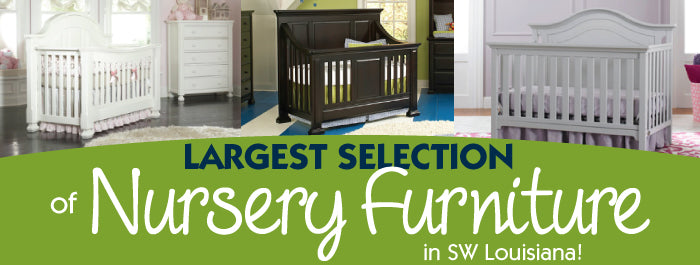 largest nursery furniture store in Louisiana