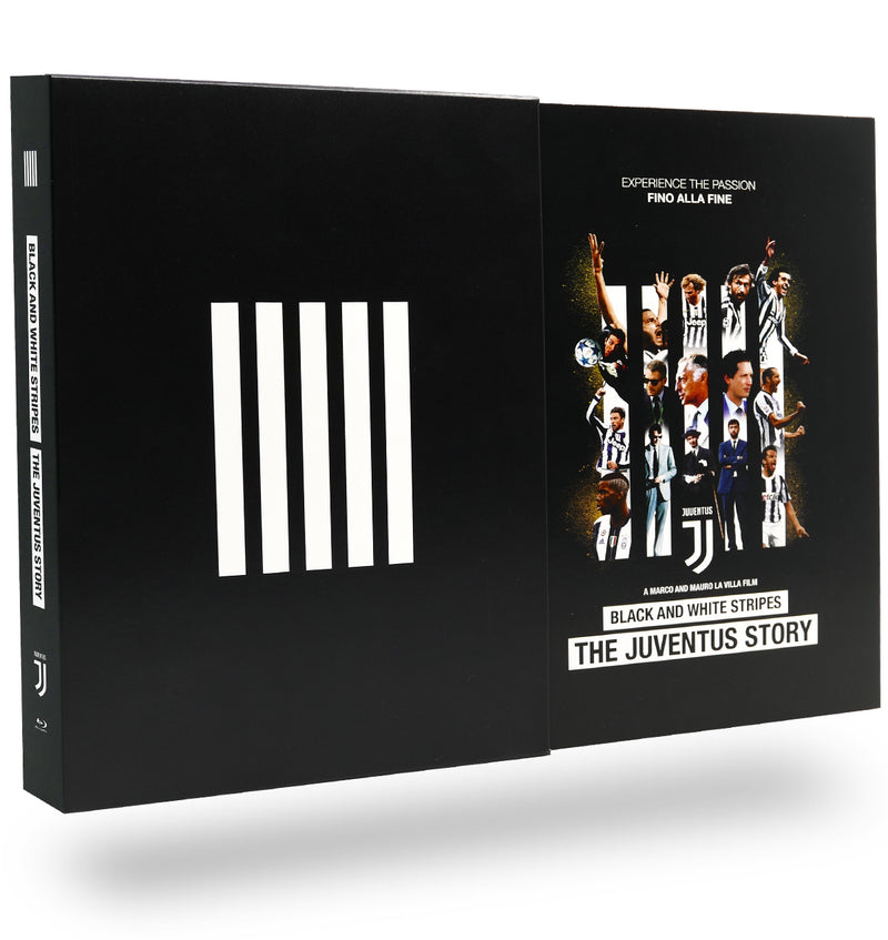 Black and White Stripes The Juventus Story DELUXE BLU-RAY [3 DISC]