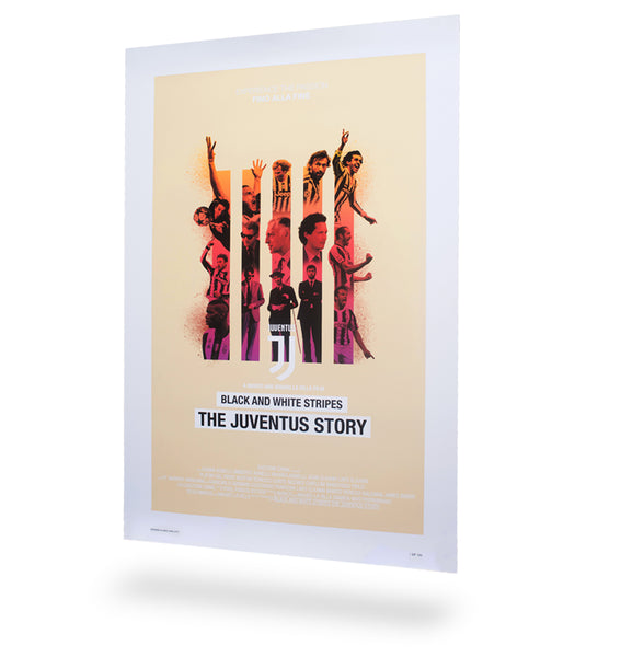 bc40b245ae6d7 Premium Limited Edition Poster – THE JUVENTUS STORY