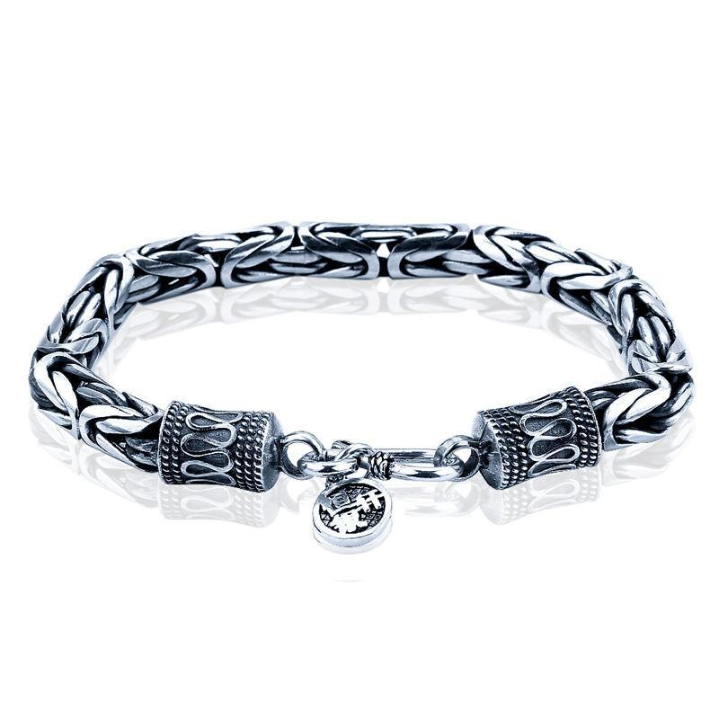 Pure 925 Sterling Silver Dragon Bracelets