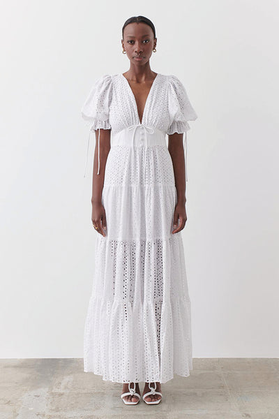 Joslin Studio | Scarlett Dress Optical White | Style Odyssey