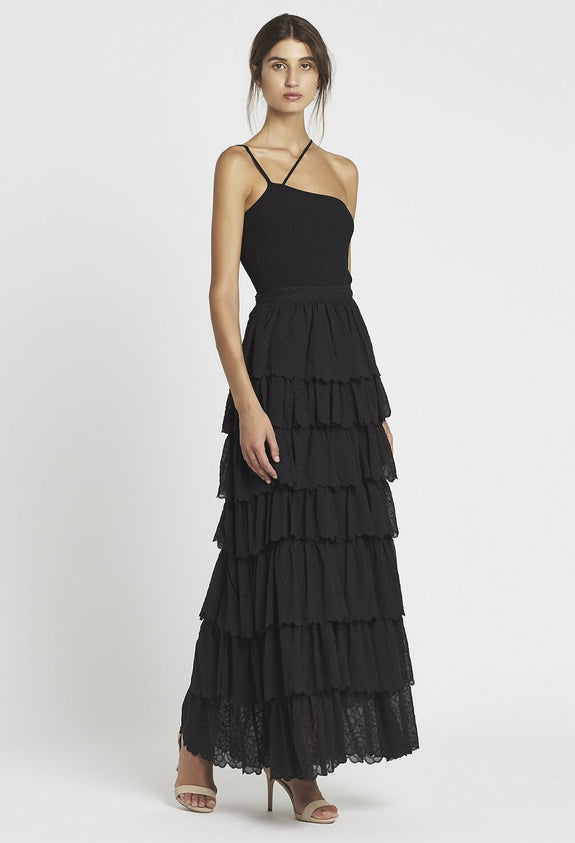 SIR The Label Florrie Tiered Maxi Skirt | Style Odyssey
