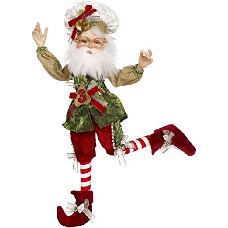 Mark Roberts Elves 51-97016 Northpole 3 French Hens Elf Medium 17 Inches