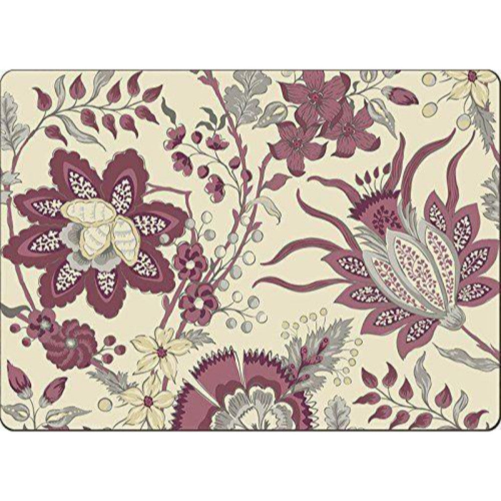 4 Cala Home Premium Hardboard Placemats Table Mats, Adrienne