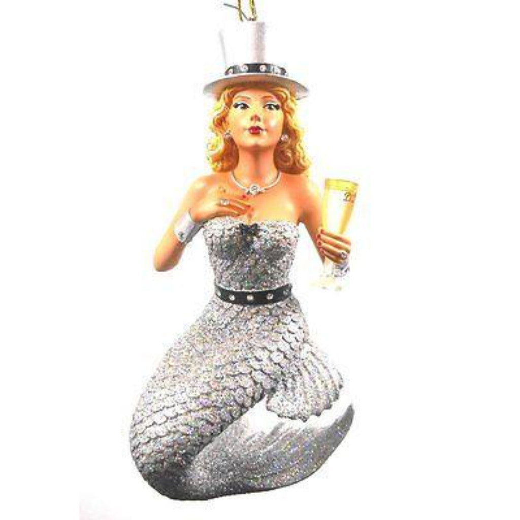 December Diamonds Mermaid Ornament Miss Champagne
