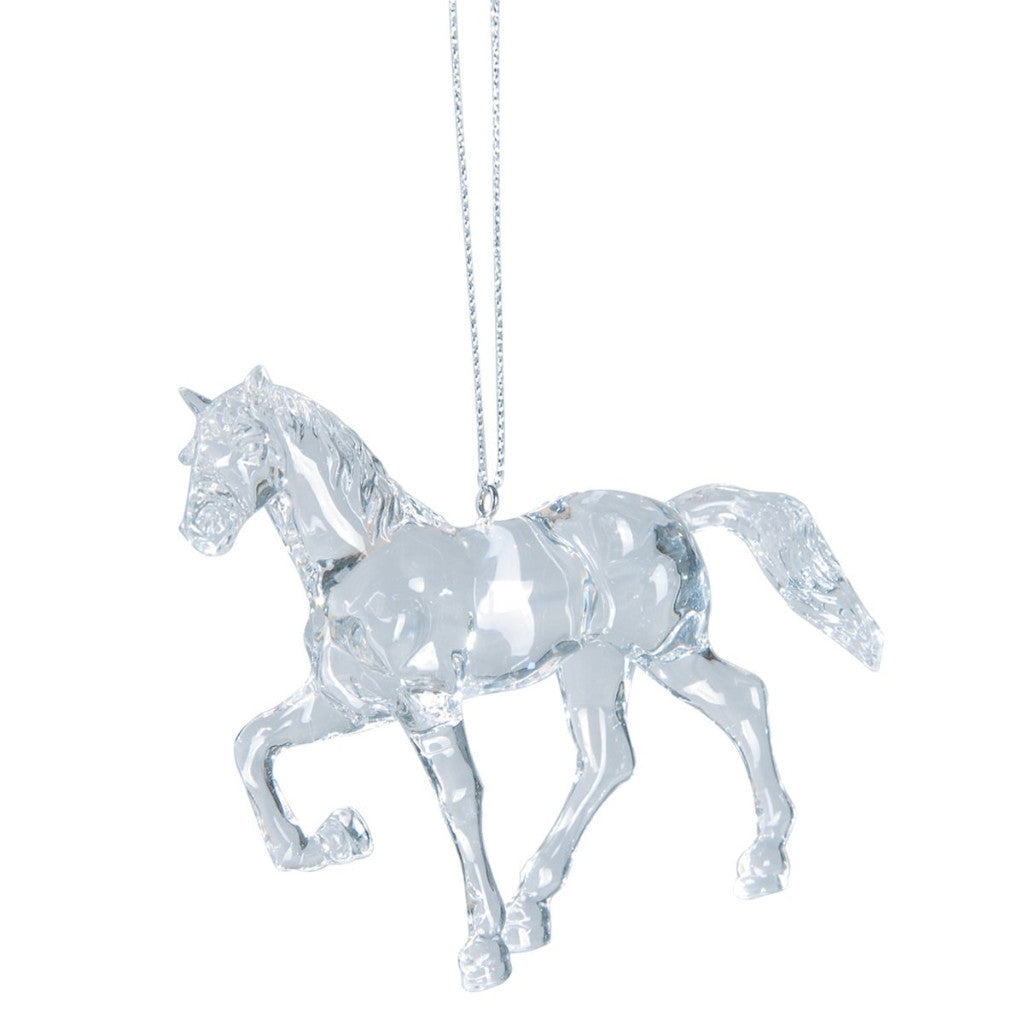 Acrylic Horse Hanging Ornament