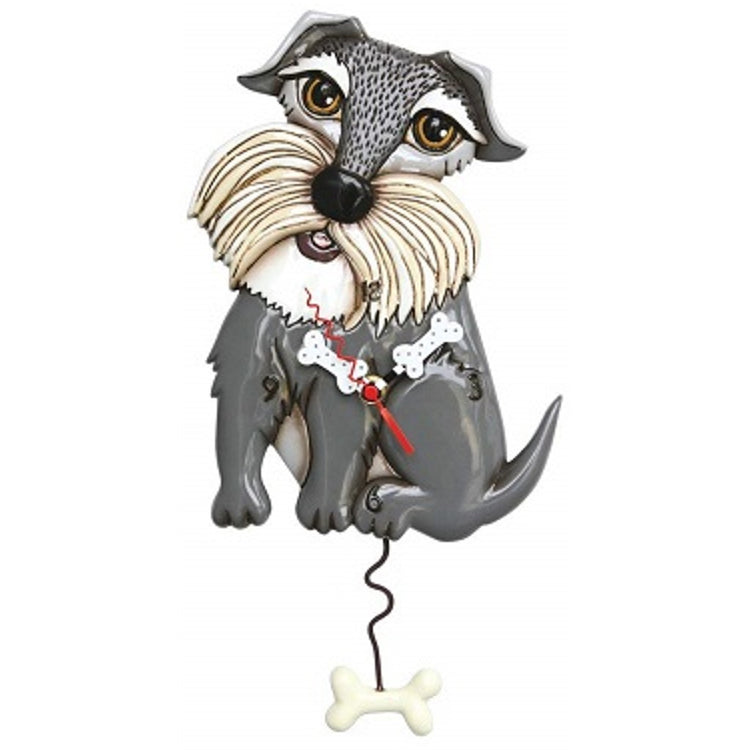 Allen Designs Swinging Pendulum Clock Lucy Dog