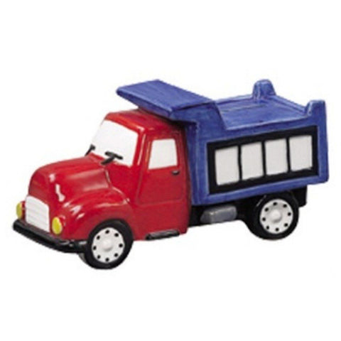 Andrea Sadek Red and Blue Dump Truck Designed Coin Bank