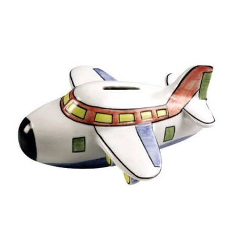 Airplane Coin Bank Piggy Bank