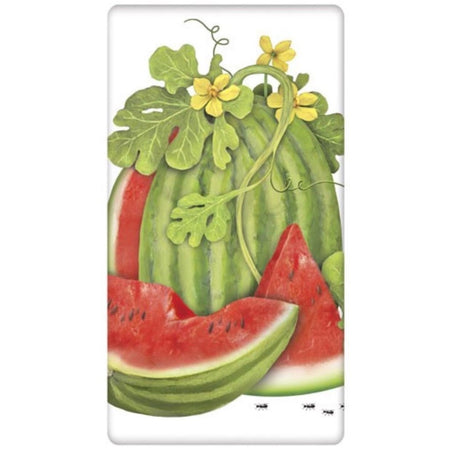 Watermelon Vine Flour Sack Towel