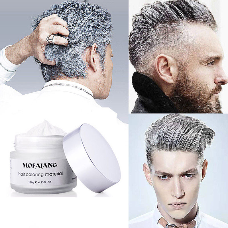 Moving Rubber Japanese Colored Hair Wax Brainiacs - Hair style change photo effect