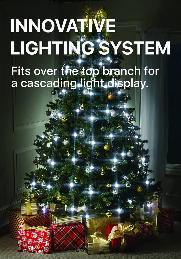 with christmas tree light lighting up your christmas tree is as easy as one two three