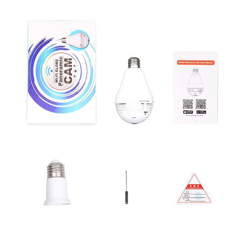 Light Bulb styled Security System