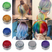 Moving Rubber Japanese Colored Hair Wax