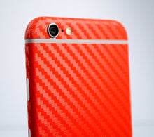Red Carbon Fiber Wraps