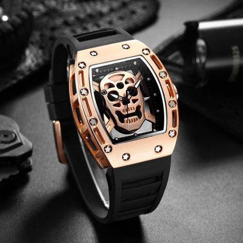 Men's Skull Wristwatch