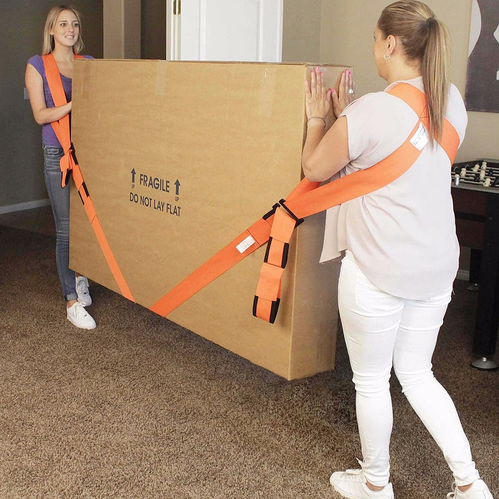 Easy Shoulder 2-Person Lifting and Moving Straps