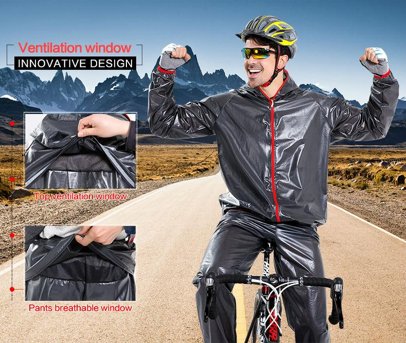 Cycling Rain Suit