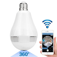 Full HD Ligh Bulb Styled Security System