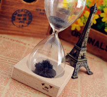 Hand-Blown Magnetic Hourglass