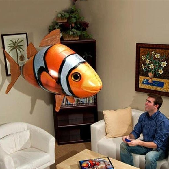 AirSwim – The Remote Controlled Fish Blimp