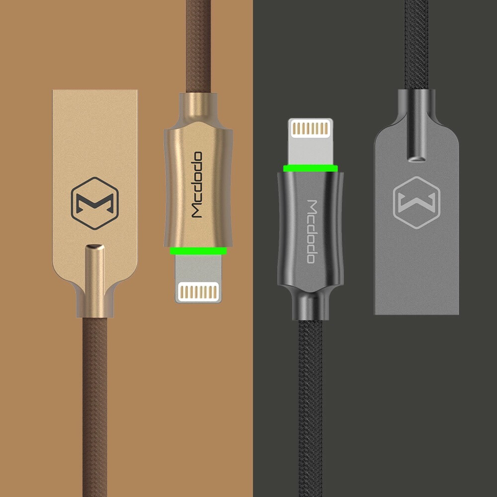 Mcdodo iPhone Fast charging Lightning cable with LED