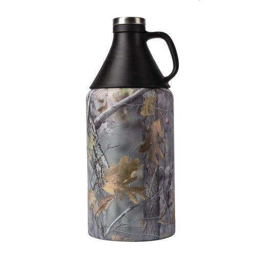 64 oz Double Wall Camouflage Vacuum Growler