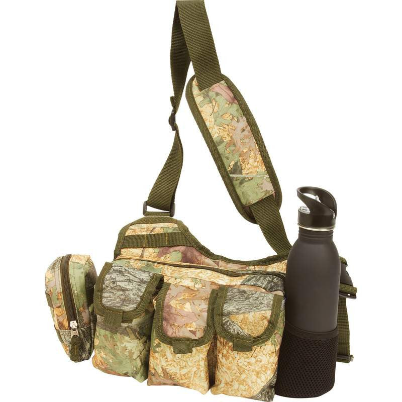 Camo Shoulder Sling Utility Bag