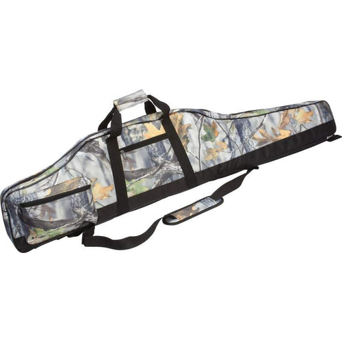 Camouflage Rifle Case with Zippered Closure