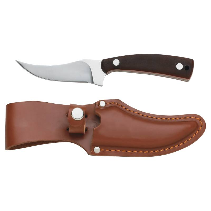 Fixed Blade Skinning Knife with SS Handle