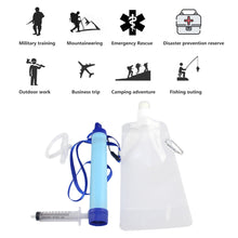 Emergency Personal Water Filter Filtration Straw