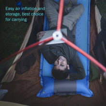 Portable Inflating Sleeping Pad for Camping