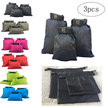 3pcs 1.5L+2.5L+3.5L Waterproof Dry Bag Storage Pouch Bag