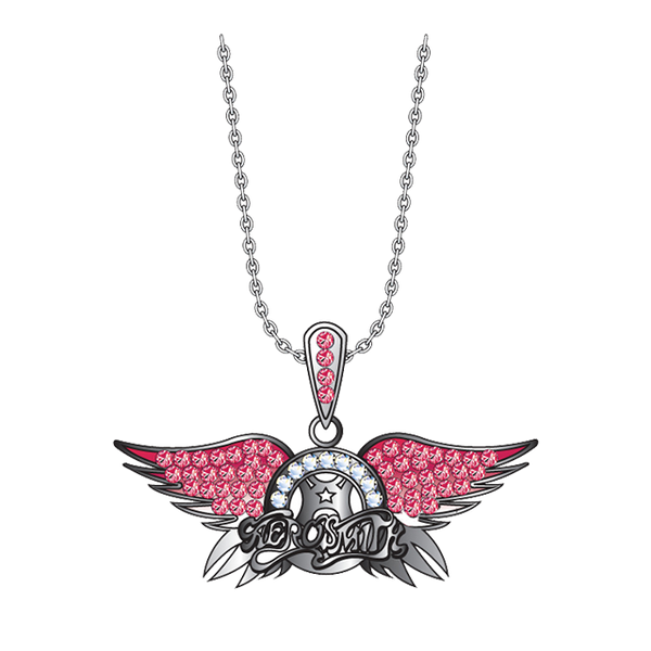 Crystal Wings Bling Necklace