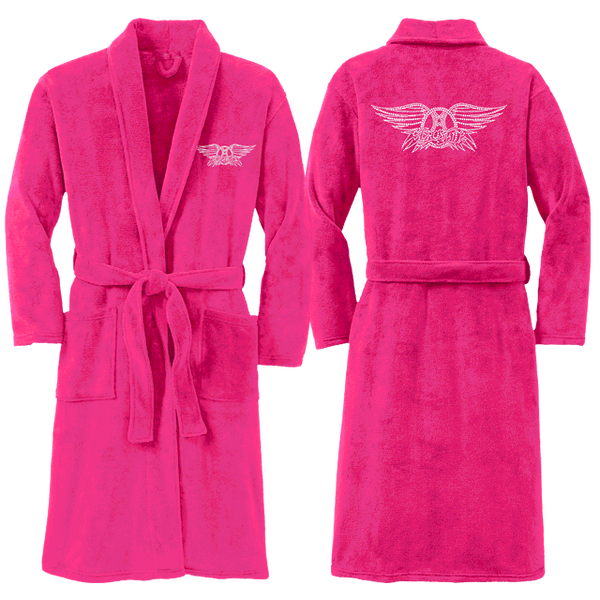 Bling Wings Logo Plush robe