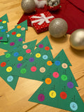Christmas Tree Math: Holiday Craft Project