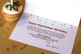 Birthday Cards SAMPLER