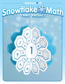 Snowflake Math: Winter Craft Project