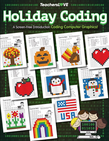 Holiday Coding: A Screen-Free Introduction to Computer Graphics