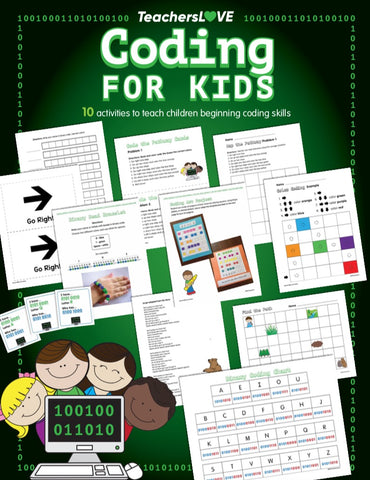 Coding for Kids: 10 Screen-Free Activities to Teach Beginning Coding Skills