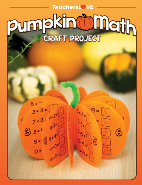 Pumpkin Math: Halloween Craft Project