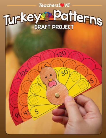 Turkey Patterns: Thanksgiving Craft Project