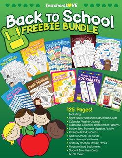 Back to School FREEBIE Bundle! — 125 Pages!